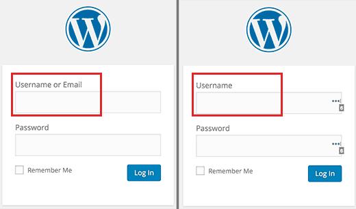 ورود با ایمیل به حساب کاربری وردپرس