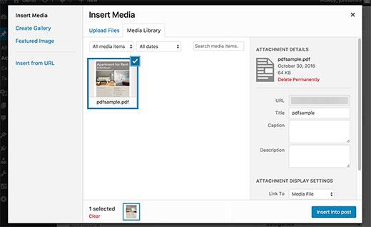 پیش نمایش فایل های PDF